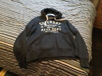 Superdry Men's Trackster Vintage Winter Hood Sweatshirt
