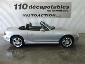 2004 Mazda MX-5 MIATA DÉCAPOTABLE - MANUEL - ROLL BAR - COMME NE
