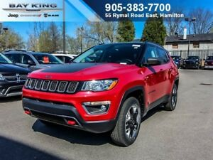 2018 Jeep Compass TRAILHAWK, GPS NAV, BACKUP CAM, HEATED SEATS