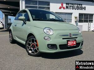 2014 Fiat 500 Sport; Local & No accidents!