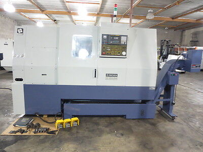 1998 Hwacheon Hi-eco31a Cnc Lathe Turning Center Fanuc Haas Video Mori Seiki