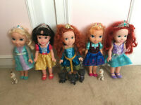 x5 Disney Toddler Dolls