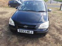 (04) HYUNDAI GETZ GSI, 5 DOOR, 0.8CC, MOT AUGUST 2019 DELIVERY OPTION AVAILABLE