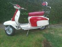 Lambretta LI 150 registered as 125