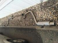 1988-91 Crx D series stainless exhaust