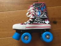 Rollerboots - Monster High. Excellent condition. Size 2-3.