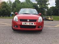Suzuki Swift 07 plate
