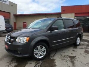 2017 Dodge Grand Caravan CREW**LEATHER**NAVIGATION**DVD**BLUETOO