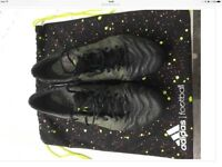 Adidas X 15.1 black and yellow boots leather size 9