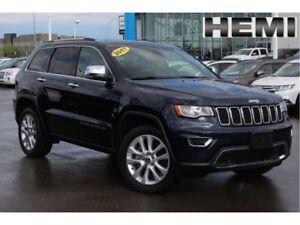 2017 Jeep Grand Cherokee Limited 5.7L| Sun| Nav| Heat Leath/2nd
