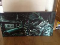 Call of Duty Ghost Canvas