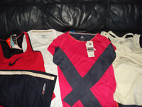 BNWT bundle of 4 sport tops-size XS (8) plus shirts (size 10)