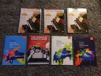 Piano Book - Alfred Basic Adult Piano Course 1-3, ABRSM grade 1 and The Complete Piano Player