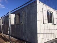 32ft x10ft Anti Vandal Unit/Site Office / Kitchen Unit/Portable Building/ Cabin /