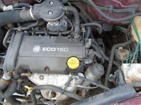 VAUXHALL 1.2 PETROL ENGINE