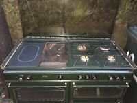 Gas range cooker green