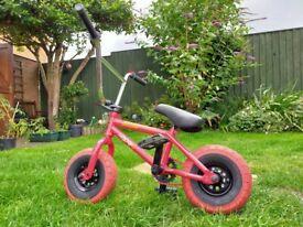 "Mini Rocker 3 De'Vito Park BMX Bike. 10"" Street Pro Tyres. VGC New Price £269.95 selling £85"