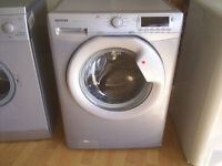 HOOVER 1600 DYN8164DS GREY / SILVER WASHING MACHINE fully reconditioned, may deliver locally