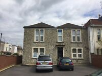 Studio flat available in Ashley down with off street parking
