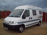 CITROEN Relay Auto sleeper, 4 berth, Mot Sept17, Turbo diesel, White.