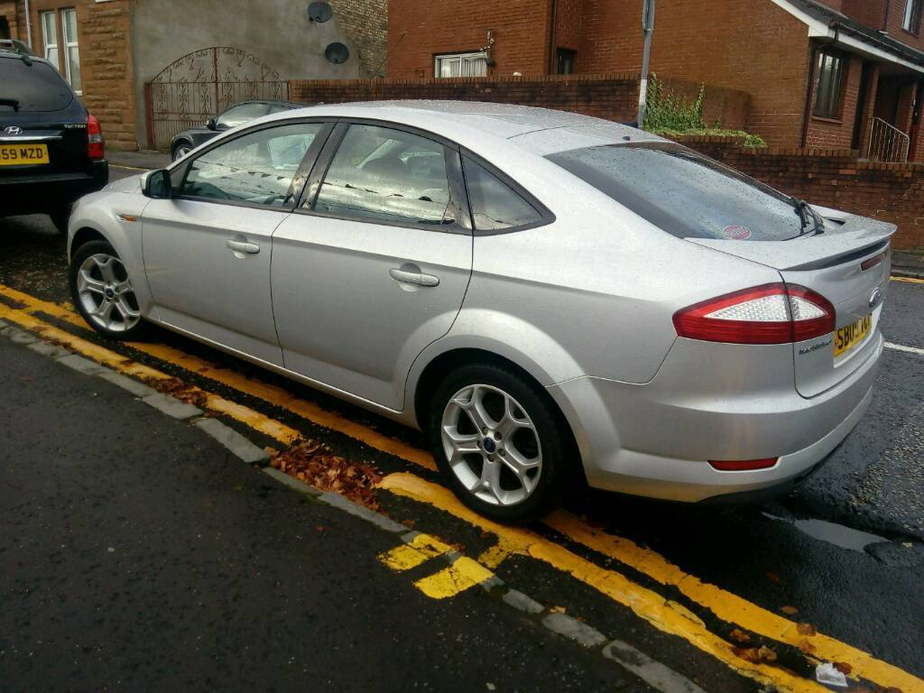 09 ford mondeo mk4 1 8 zetec tdci 125 diesel 1 years mot. Black Bedroom Furniture Sets. Home Design Ideas