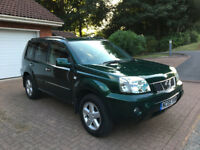 2005 NISSAN X TRAILSVE 2.2 DCI 4X4, FULLY LOADED, LEATHER, SAT NAV, 12 MONTHS MOT, SPOTLESS TRUCK