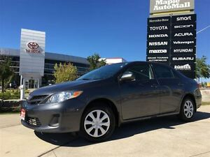 2013 Toyota Corolla CE*HEATED FRONT SEATS, ACCIDENT FREE, LOW MI