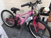 *SOLD* Pink Apollo 24 Inch Mountain Bike
