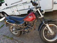 Yamaha trailway 125