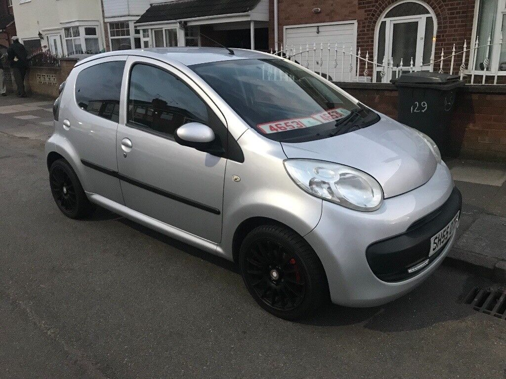 Citroen c1 12 months mot hpi clear service history reverse camera alloys new tyres electric windows