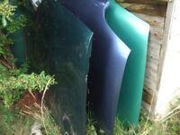 V W GOLF MK 3 PI GREEN , EXCELLENT BONNET £20 ,