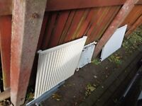 Single Panel radiators x4 Buyer to collect LS12