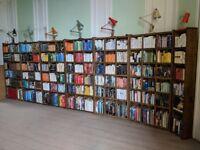 BOOKCASE run library UK reclaimed wood industrial vintage gplanera