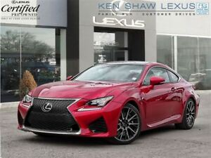 2016 Lexus RC F ** Performance Package ** 6505 km **