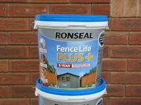 RONSEAL Fence Life PLUS + 9 litre