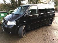 Volkswagen Transporter Caravelle, people carrier, Van,