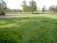 Building land for sale in central France