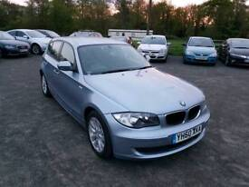 BMW 1 SERIES 2.0L 5DR 2010 1 YEAR MOT EXCELLENT CONDITION
