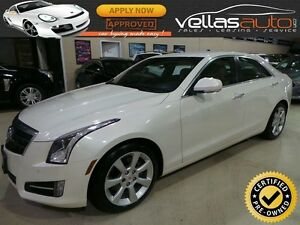 2013 Cadillac ATS 2.0L Turbo 2.0T| NAVI| 6SPEED| PEARL WHITE