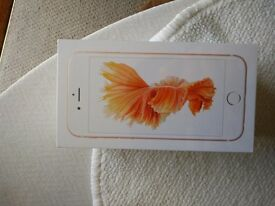 Iphone 6s rose gold (brand new)