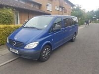 2007 MERCEDES VITO EXTRA LONG
