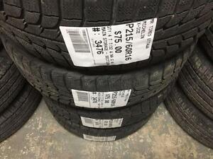 215/60/16 Michelin X-Ice *Winter Tires*