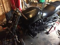 Kawasaki zr750 streetfighter project