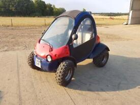 2004 Secma Qpod 340cc 12 MONTHS MOT with roof and doors