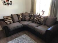 CORNER L SHAPED SOFA EXCELLENT CONDITION SMOKE FREE HOME