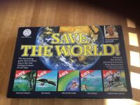 Save The World Vintage Board Game c.1989