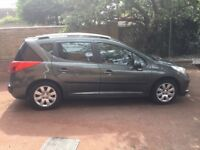 Peugeot 207SW (Petrol) - Only 50k - Same Driver From New - Glass Roof, Opening Tailgate Window.
