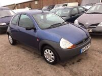 2006 FORD KA IN VGCONDITION NICE DTIVER IDEAL FIRST CAR LOVELY INTERIOR ANY TRIAL WELCOME PX CONSIDE