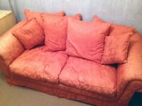 Terracotta Sofa Bed **Immaculate Condition**