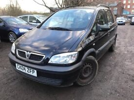 scrapping old shape zafira - some electric fault - 6 months mot - clean interior - decent body